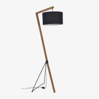 Vue de face du lampadaire BOGART