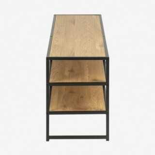 Vue de profil du meuble TV ALIBA