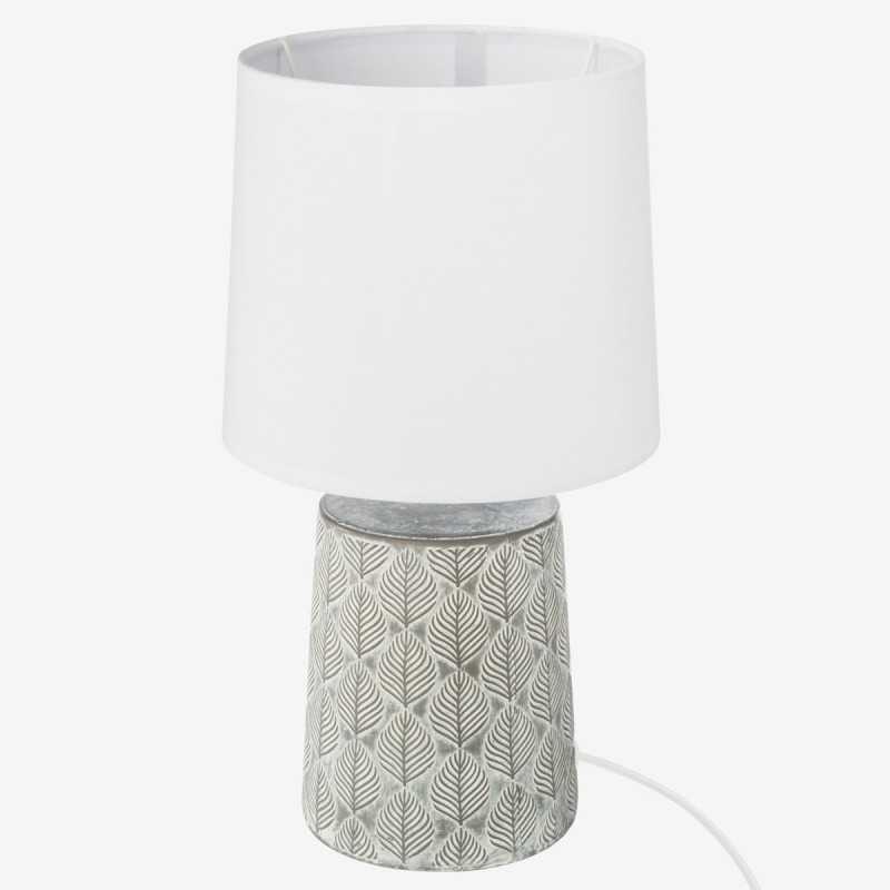 Vue de face de la lampe à poser NATURE