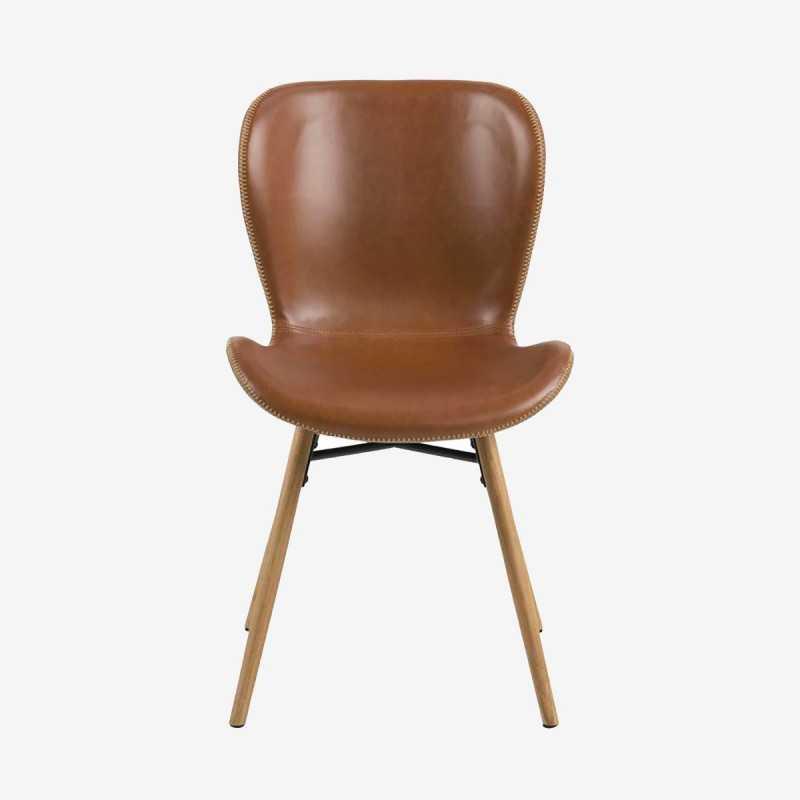 Vue de face de la chaise ATILA