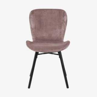 ATILA chaise velours