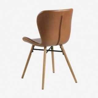 Vue de profil de la chaise ATILA