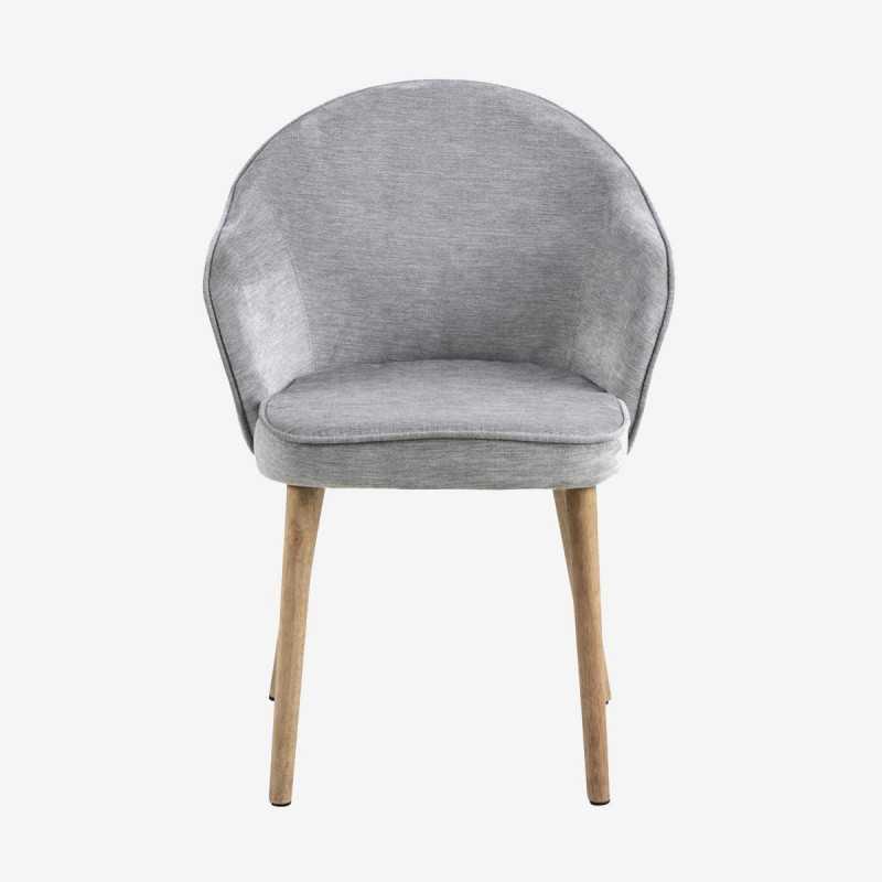 Vue de face de la chaise AZIE