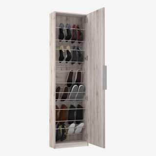 Vue de trois-quarts du range-chaussures BOOTS GM