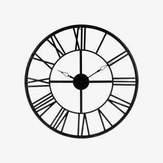 Vue de face de l'horloge VINTAGE