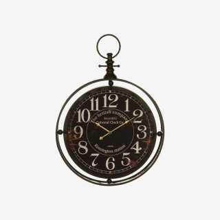Vue de face de l'horloge GOUSSET