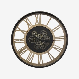 Vue de face de l'horloge MECANIC