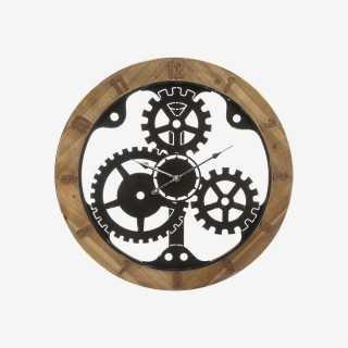 Vue de face de l'horloge SIL