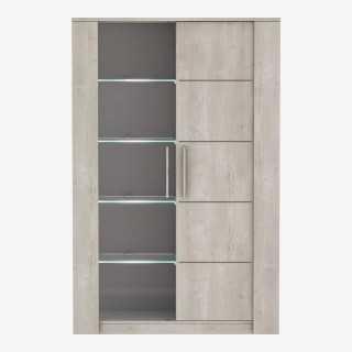 Vue de face de la vitrine Baleares