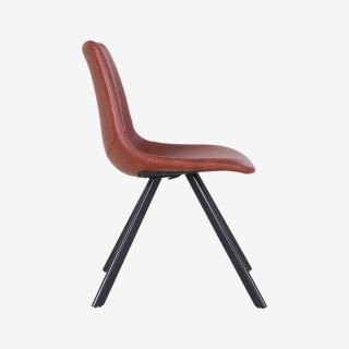 Vue de profil de la chaise REGINA