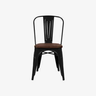 Vue de face de la chaise ROSARIO