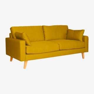 Vue de trois-quarts du canapé STOCKHOLM 2,5P