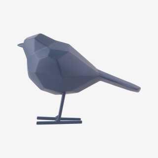 Vue de profil de la statue ORIGAMI OISEAU