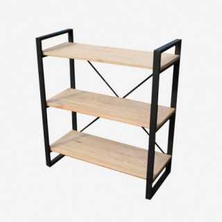 Vue de trois-quarts de l'étagère KENTON petit modèle