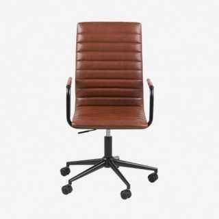 Vue de face du fauteuil de bureau ASLOW