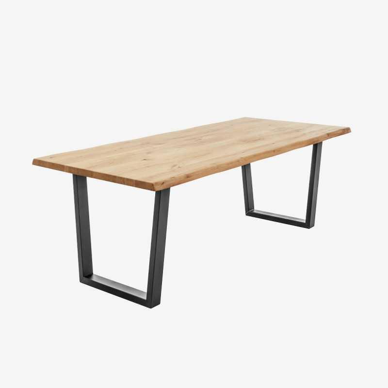 Vue de trois-quarts de la table NENY