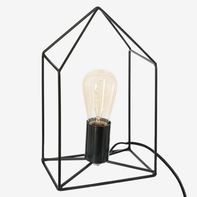 Vue de trois-quarts de la lampe à poser FILAIRE