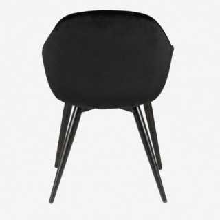 Vue de dos du fauteuil CARMEN