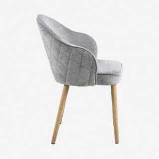 Vue de profil de la chaise AZIE