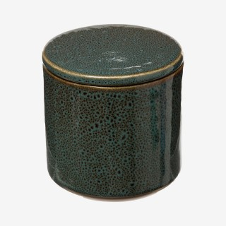 Vue de face du pot à coton HARMONY