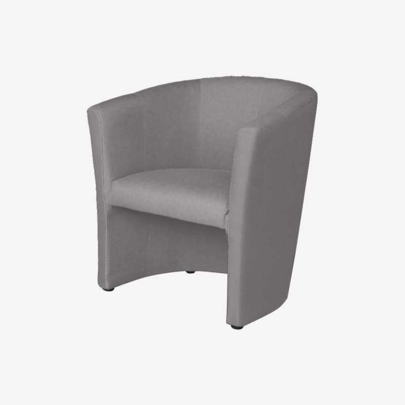 Vue de trois-quarts du fauteuil LULU