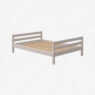Vue de face du lit COMBI 140x190
