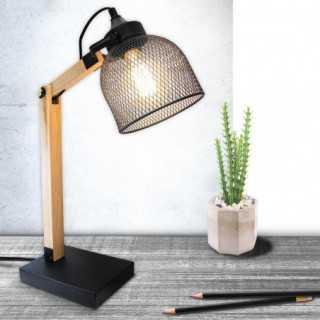 Mise en ambiance de la lampe de bureau GRILLE