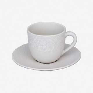 Vue de face de la tasse à café VEZUVIO