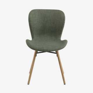 ATILA chaise tissu