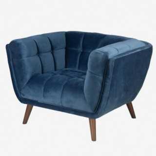 Vue de trois-quarts du fauteuil MERYL