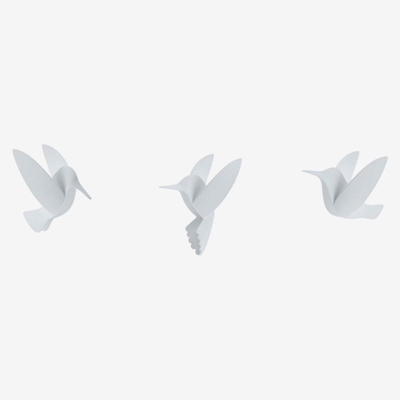 Vue de face des objets BIRDS