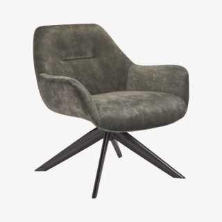 Vue de trois-quarts du fauteuil REGAS