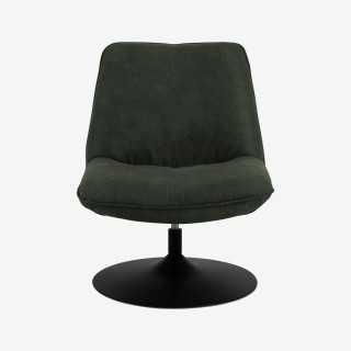 Vue de face du fauteuil pivotant ANNA