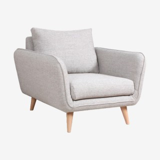 Vue de trois-quarts du fauteuil OASIS