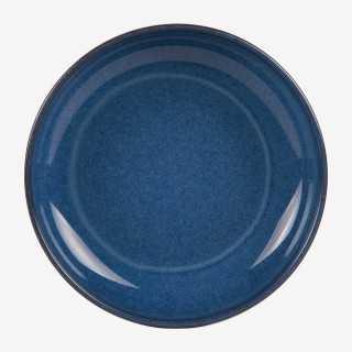 Vue de face de l'assiette calotte KOBALT