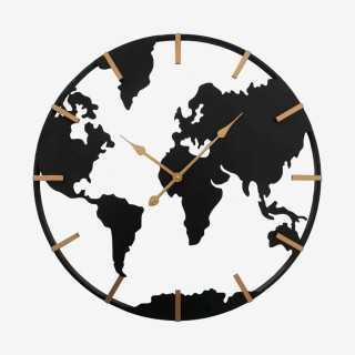 Vue de face de l'horloge UNION