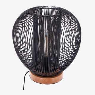 Vue de face de la lampe à poser FILAIRE