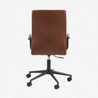 Vue de dos du fauteuil de bureau ASLOW
