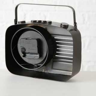 Vue de dos de l'horloge RADIO