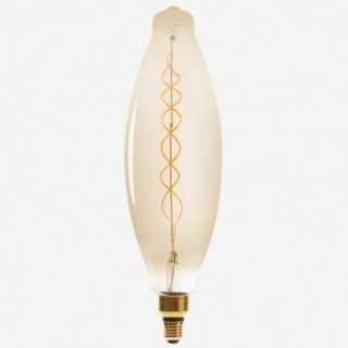 Vue de face de l'ampoule TORSADE