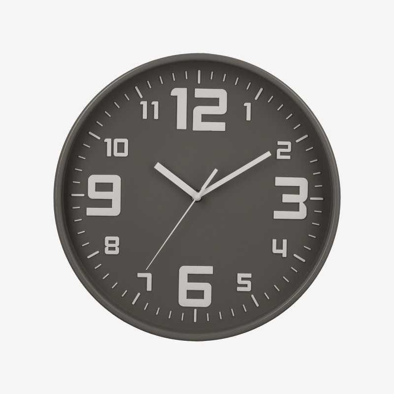 Vue de face de l'horloge SILENCE