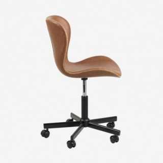 Vue de profil du fauteuil de bureau ATILA