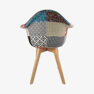 Vue de dos du fauteuil SCANDI