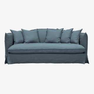 Vue de face du canapé GRIMALDI
