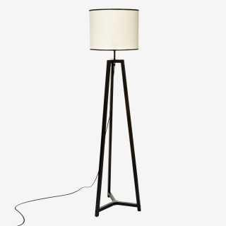 Vue de face du lampadaire SAFARI