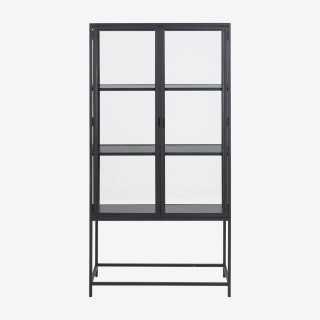 Vue de face de la vitrine ALIBA