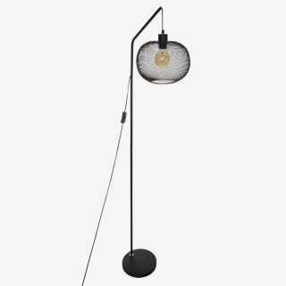 Vue de face du lampadaire EMIE