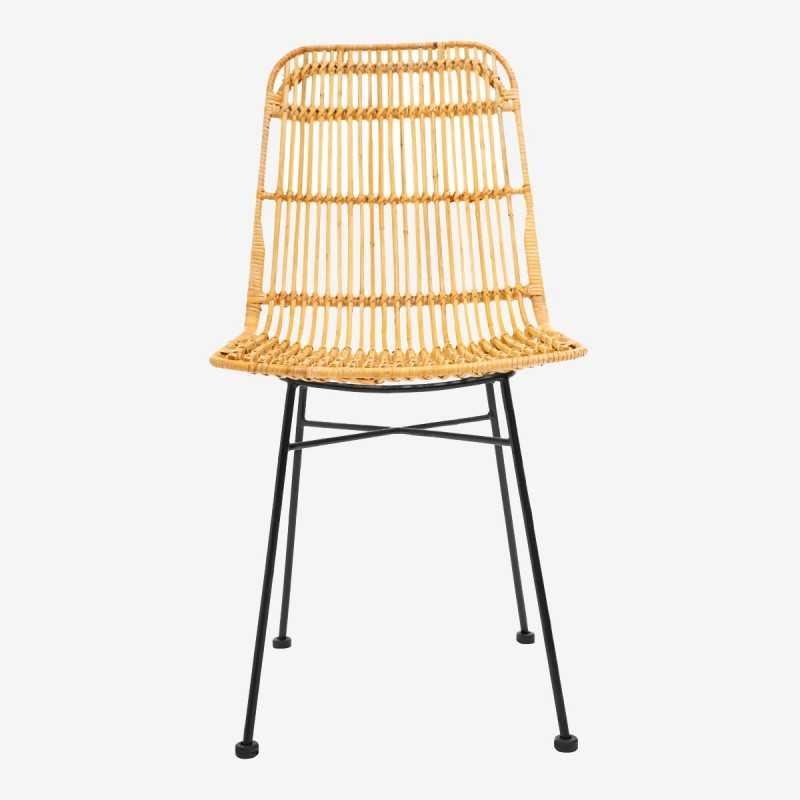 Vue de face de la chaise JINE