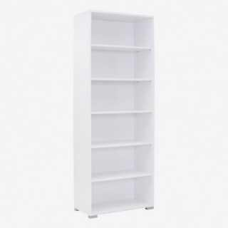 Vue de trois-quarts de l'étagère 80x214 SYSTEM