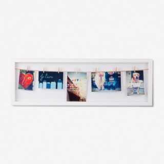 Vue de face du cadre-photo BOX